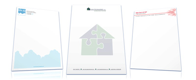 Letterhead samples by American Printing and Copying